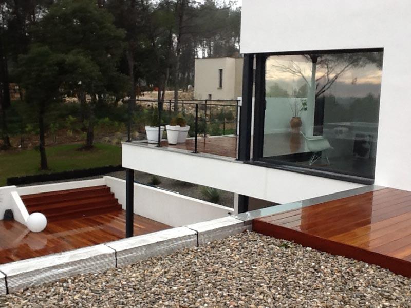 Maison design structure en bois
