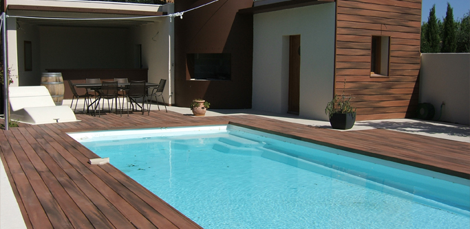 Awesome Amenagement Terrasse Piscine Exterieure Images